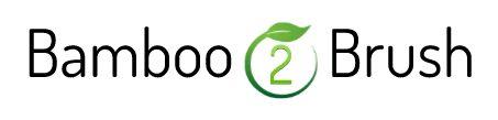 Het logo van Bamboo2brush