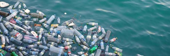 Plastic soep oceaan